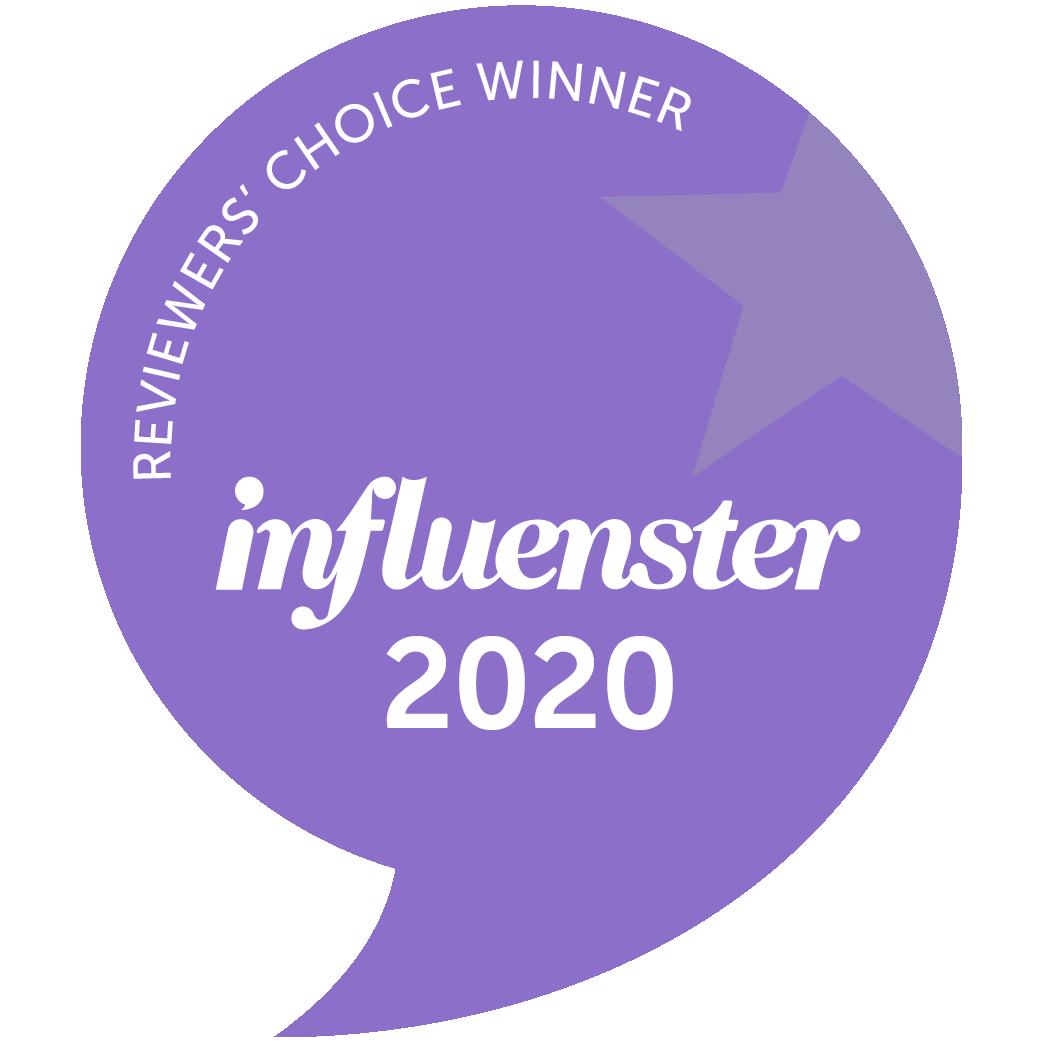 Influenster 2020 Reviewers' Choice Awards