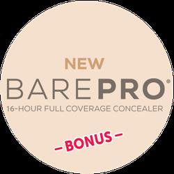 bareMinerals BAREPRO Concealer BONUS Badge