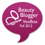 Beauty Blogger '12