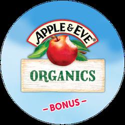 Apple & Eve Organic BONUS Badge