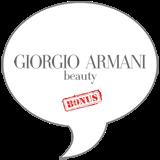 Giorgio Armani Lip Magnet BONUS Badge