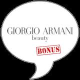 Giorgio Armani BONUS Badge