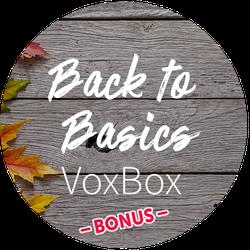 Back To Basics BONUS Badge
