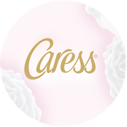Caress Midnight Iris & Vanilla Bean Badge