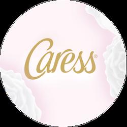 Caress Midnight Iris & Vanilla Bean Badge