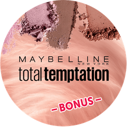 Maybelline total temptation Bonus Badge
