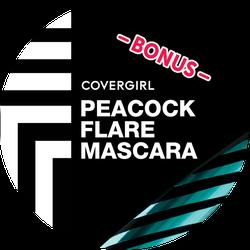 COVERGIRL Peacock Bonus Badge