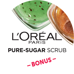 L'Oréal Pure Sugars Bonus Badge