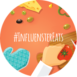 #InfluensterEats Badge