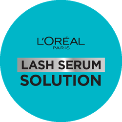 L'Oréal Paris Lash Serum Solution Badge