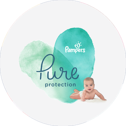 Pampers Pure Badge