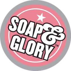 Soap & Glory Pretty Active Body Lotion Badge