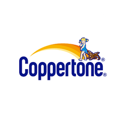 Coppertone Pure & Simple Brand Badge