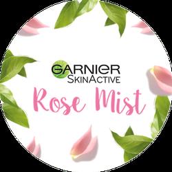 Garnier SkinActive Facial Mist Badge