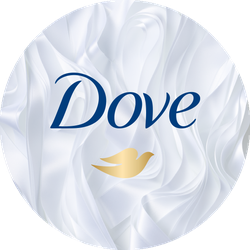 Dove UltraCare Foam Weightless + Volume Badge