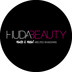Huda Beauty Matte & Metal Melted Shadows Badge