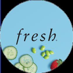 Fresh Sugar Strawberry Badge