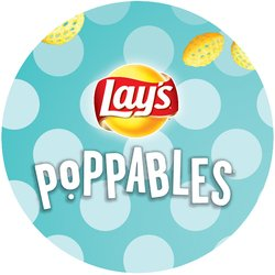 Lay's Poppables Badge