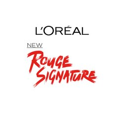 L'Oréal Paris Rouge Signature Badge