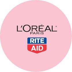 L'Oréal Paris Makeup at Rite Aid Badge