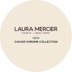 Laura Mercier Caviar Chrome Badge
