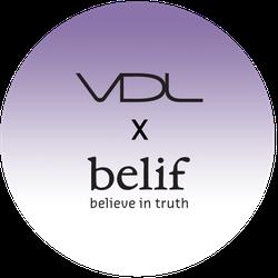 VDL x belif Badge