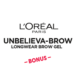 L'Oréal Paris Unbelieva-Brow BONUS Badge