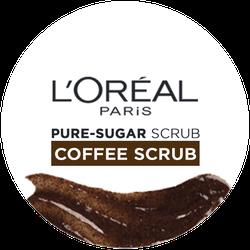 L'Oréal Paris Pure Sugar Coffee Scrub Badge