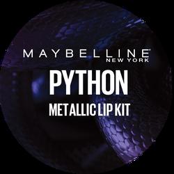 Maybelline Lip Studio Python Badge