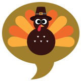 Thanksgiving Badge