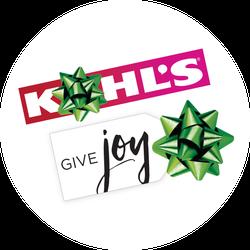 Kohl's #GiveJoy VirtualVox Badge