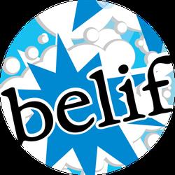 belif Moisturizing Eye Bomb Badge