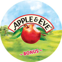 Apple & Eve BONUS Badge