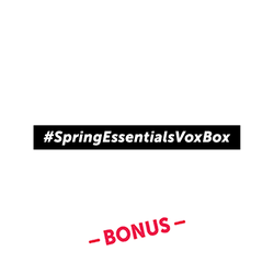 Spring Essentials BONUS Badge