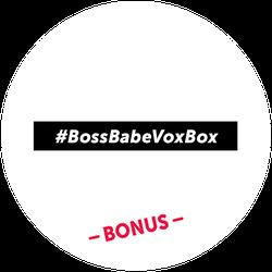 BossBabe Bonus Badge