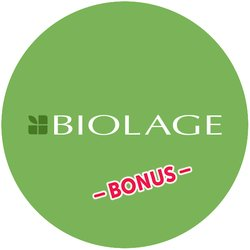Biolage Glotion BONUS Badge