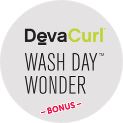 DevaCurl Wash Day Wonder BONUS Badge