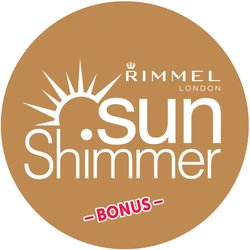 Rimmel SunShimmer BONUS Badge