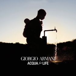 Giorgio Armani Acqua for Life VirtualVox Badge