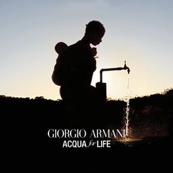 Giorgio Armani Acqua for Life VirtualVox Badge