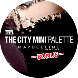 Maybelline City Mini Bonus Badge