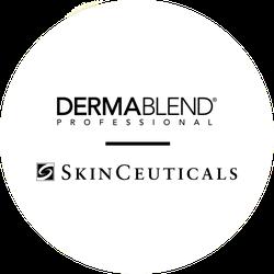 Dermablend & SkinCeuticals Badge