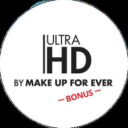 MAKE UP FOR EVER Ultra HD Bonus Badge