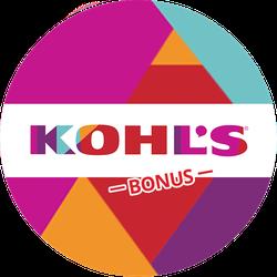 Kohl's Back to School BONUS Badge