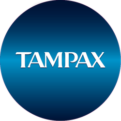 Tampax Pocket Pearl™ Badge