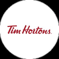 Tim Hortons Brand Badge