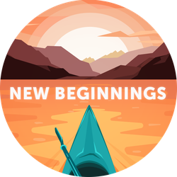 New Beginnings Badge