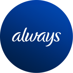 Always® Infinity™  Badge