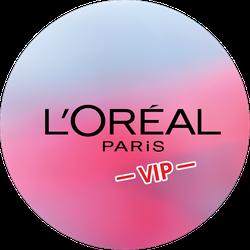 L'Oréal Triple Power VIP Badge