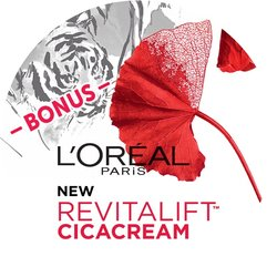 L'Oréal Revitalift Cica BONUS Badge
